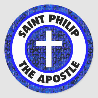 Saint Philip the Apostle Classic Round Sticker