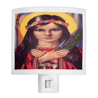 Saint Philomena Daughter of Light Nite Light