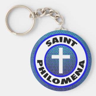 Saint Philomena Keychain