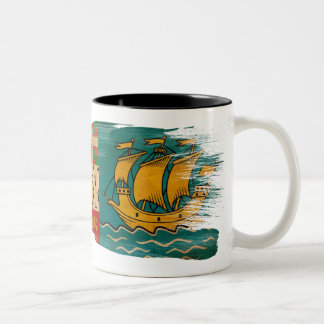 Saint Pierre and Miquelon Flag Mug
