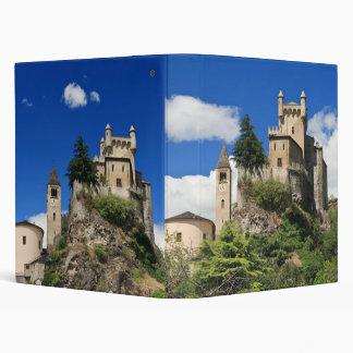 Saint Pierre Castle Vinyl Binder