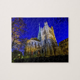 Saint-Pierre cathedral in Geneva, Switzerland Jigsaw Puzzle