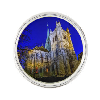 Saint-Pierre cathedral in Geneva, Switzerland Lapel Pin