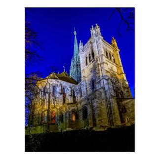 Saint-Pierre cathedral in Geneva, Switzerland Postcard