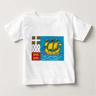 Saint Pierre Flag Baby T-Shirt