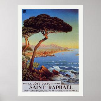 Saint-Raphael Travel Poster