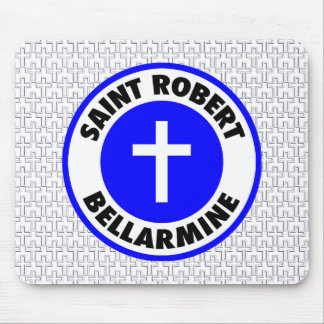 Saint Robert Ballarmine Mouse Pad