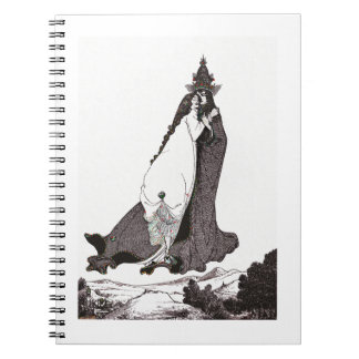 Saint Rose of Lima Ascends to Heaven Notebooks