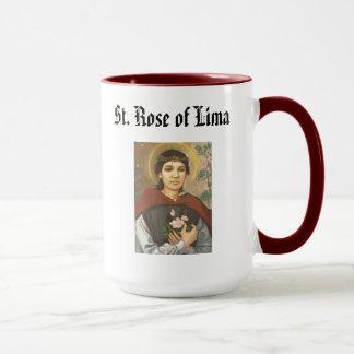 SAINT ROSE* of Lima Mug  Santa Rosa de LIma
