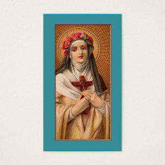 Saint Rose of Lima Prayer or Business Card