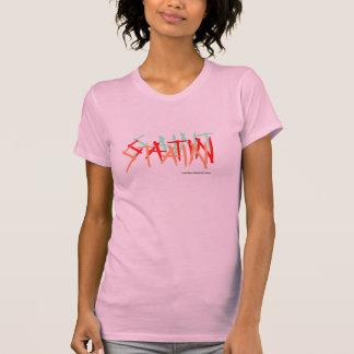 SAINT, SATIN, STAIN, T-Shirt