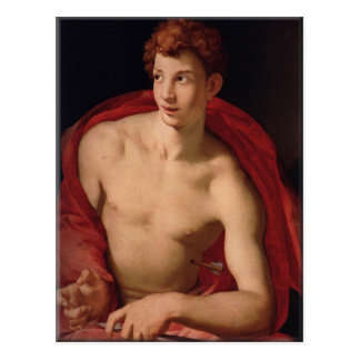Saint Sebastian-Agnolo Bronzino Postcard