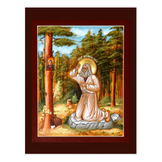Saint Seraphim Of Sarov Prayer Card