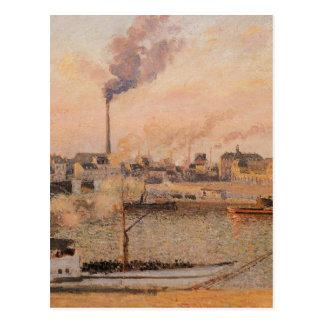 Saint Sever, Rouen Morning, Five O'Clock Postcard
