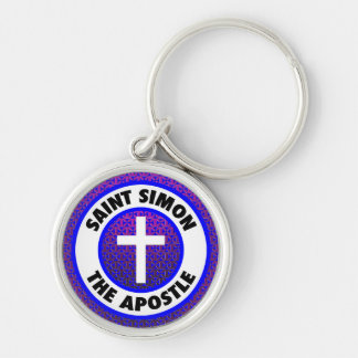 Saint Simon the Apostle Keychain