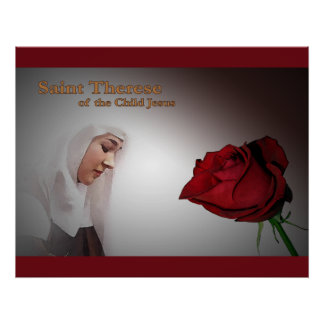 Saint Therese Poster