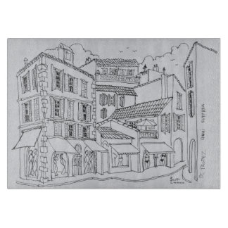 Saint-Tropez Shopping | French Riviera, France Cutting Board