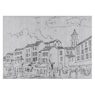 Saint-Tropez Waterfront | French Riviera, France Cutting Board