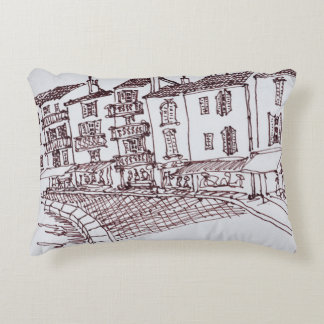Saint-Tropez Waterfront | Saint-Tropez, France Accent Pillow
