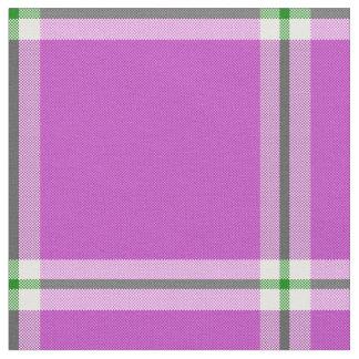 Saint Urho's Plaid Fabric