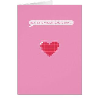 Saint-Valentin de Gamer - je ferai une pause mon Carte De Vœux