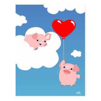 Saint-Valentin : Les ailes de la carte postale