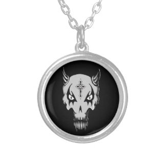 Saint Vengeance neckless charm Silver Plated Necklace