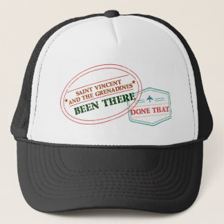 Saint Vincent and The Grenadines Been There Done T Trucker Hat