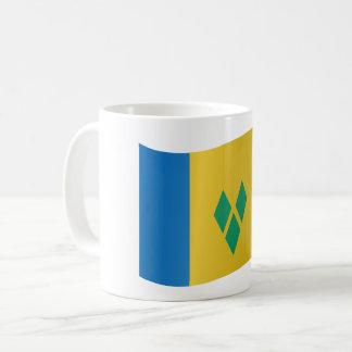 Saint Vincent and the Grenadines Flag Coffee Mug