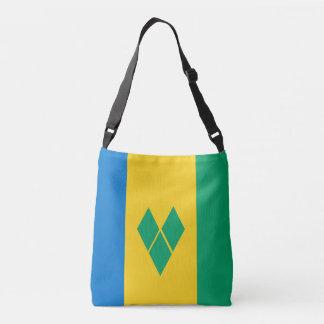 Saint Vincent and the Grenadines Flag Crossbody Bag