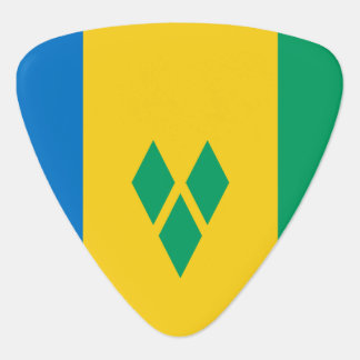 Saint Vincent and the Grenadines Flag Guitar Pick