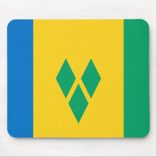 Saint Vincent and the Grenadines Flag Mouse Pad