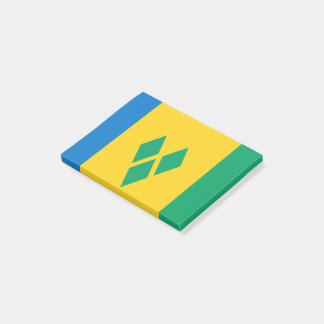 Saint Vincent and the Grenadines Flag Post-it Notes