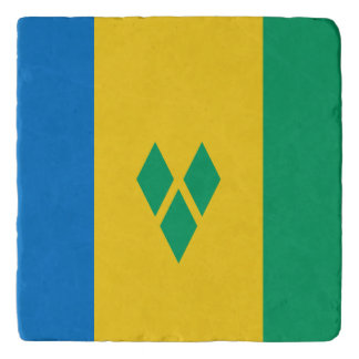 Saint Vincent and the Grenadines Flag Trivet