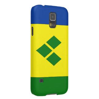 Saint Vincent Flag Cases For Galaxy S5