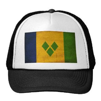 Saint Vincent Flag Mesh Hats