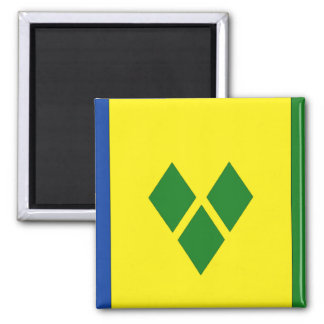Saint Vincent Flag Magnet