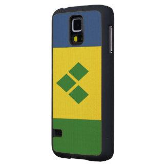 Saint Vincent Flag Maple Galaxy S5 Case