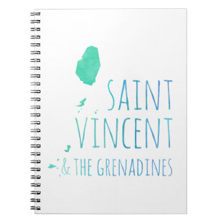 Saint Vincent & the Grenadines Notebooks