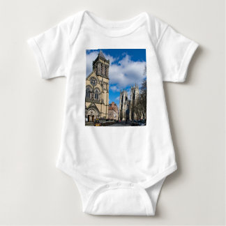 Saint Wilfrids and York Minster. Baby Bodysuit