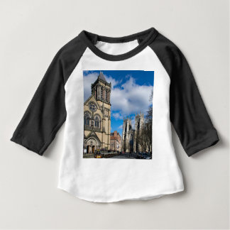Saint Wilfrids and York Minster. Baby T-Shirt