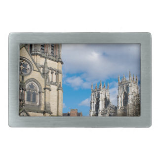 Saint Wilfrids and York Minster. Belt Buckle