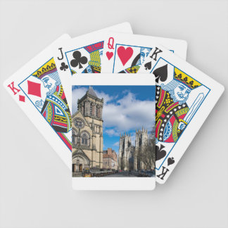 Saint Wilfrids and York Minster. Bicycle Playing Cards