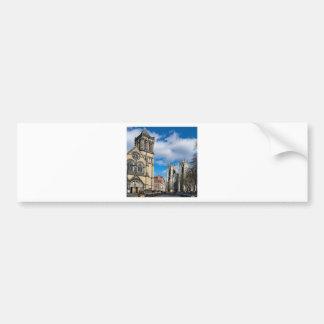 Saint Wilfrids and York Minster. Bumper Sticker