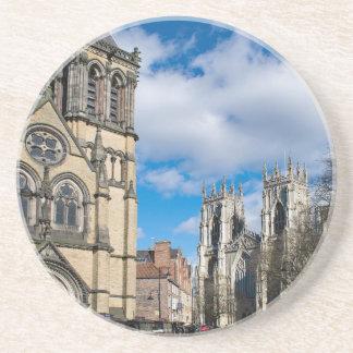 Saint Wilfrids and York Minster. Coaster