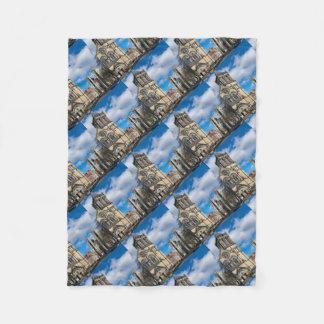 Saint Wilfrids and York Minster. Fleece Blanket
