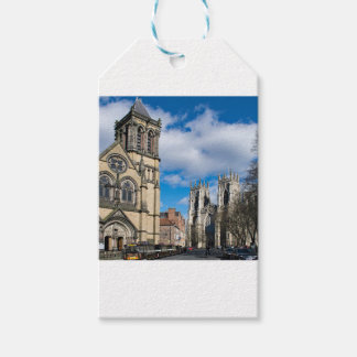 Saint Wilfrids and York Minster. Gift Tags