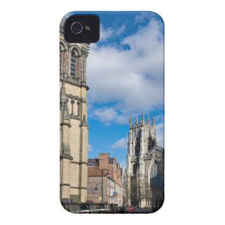 Saint Wilfrids and York Minster. iPhone 4 Case-Mate Case