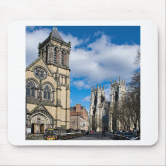 Saint Wilfrids and York Minster. Mouse Pad