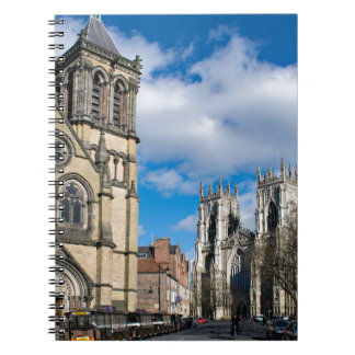 Saint Wilfrids and York Minster. Spiral Note Books
